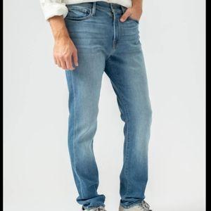 Frame L'Homme Athletic slim fit jeans
